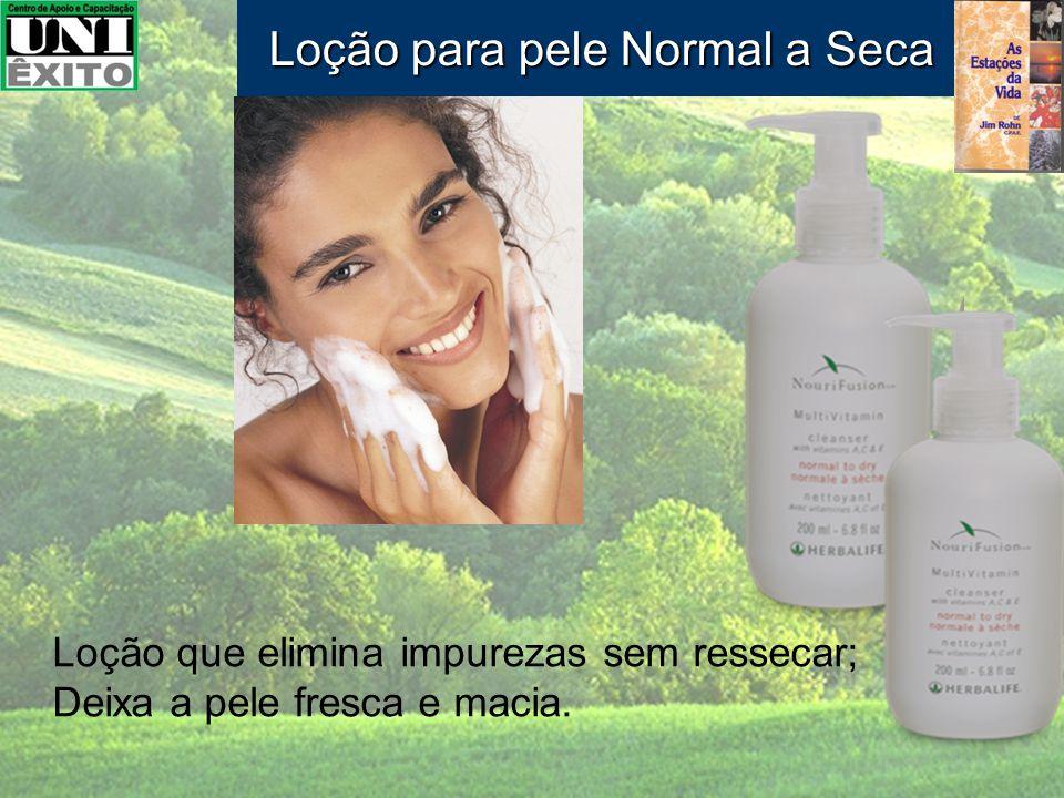 Loção para pele Normal a Seca