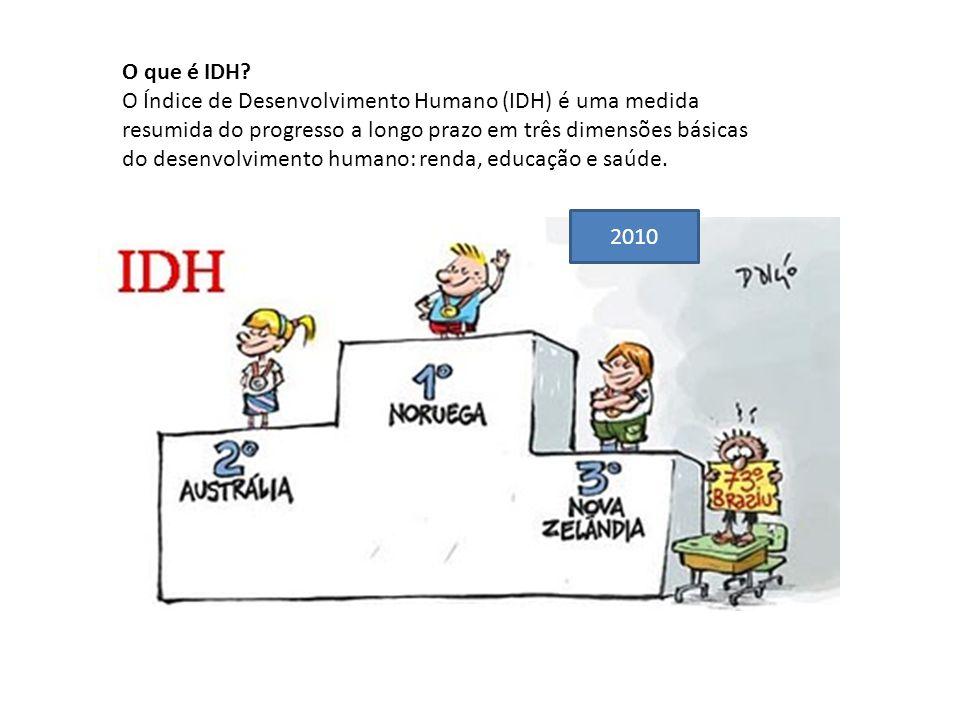 O que é IDH