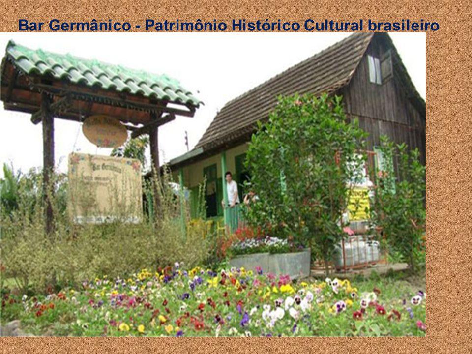 Bar Germânico - Patrimônio Histórico Cultural brasileiro