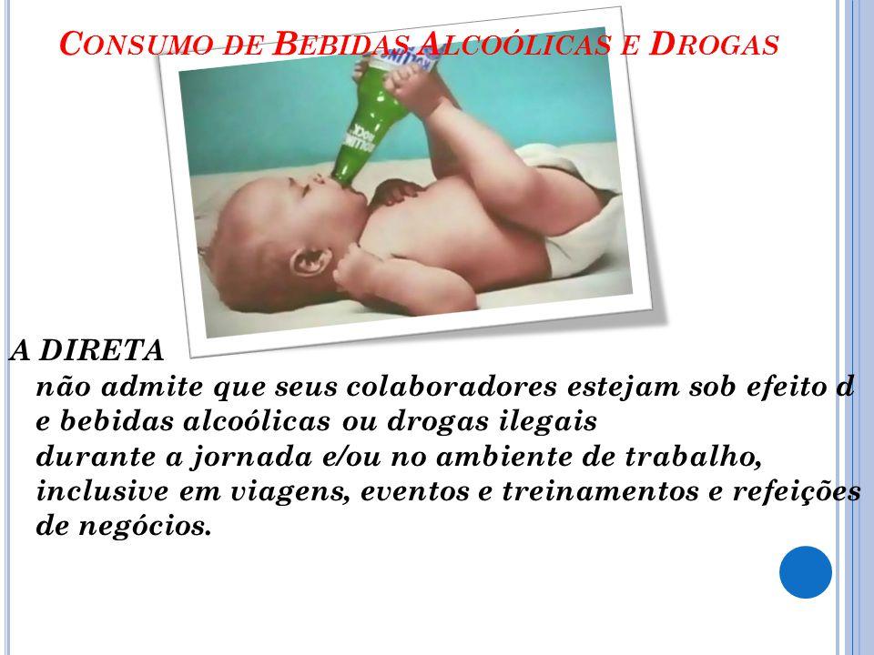 Consumo de Bebidas Alcoólicas e Drogas
