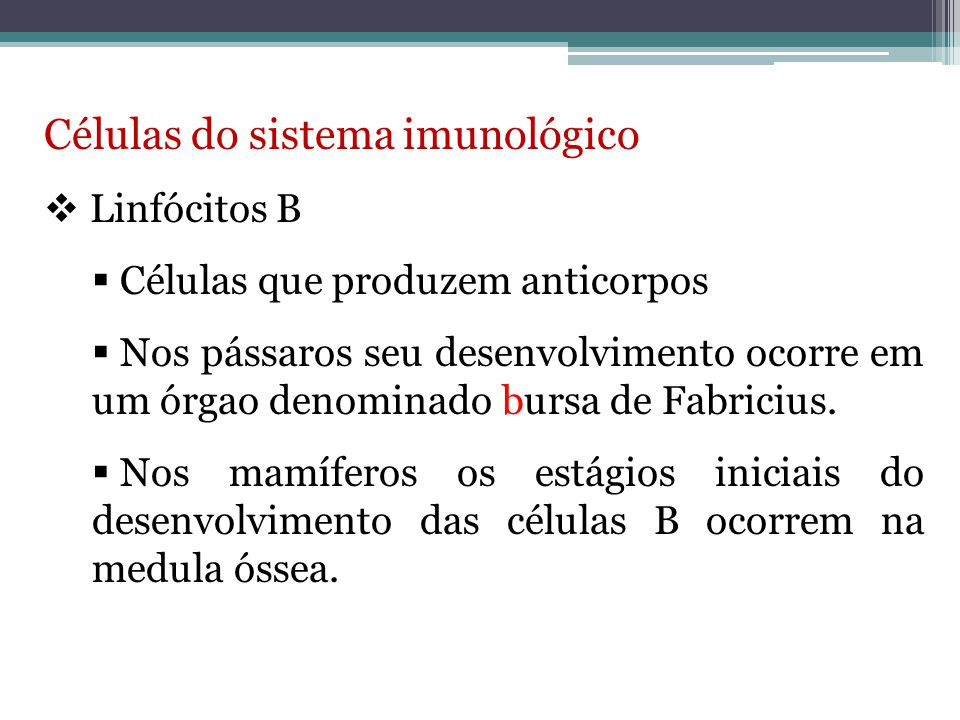 Células do sistema imunológico