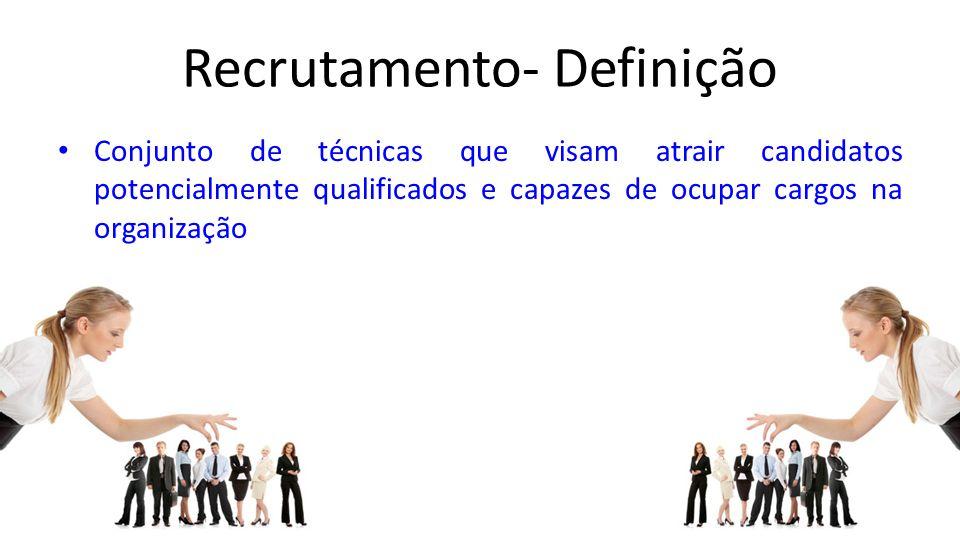 Recrutamento- Definição