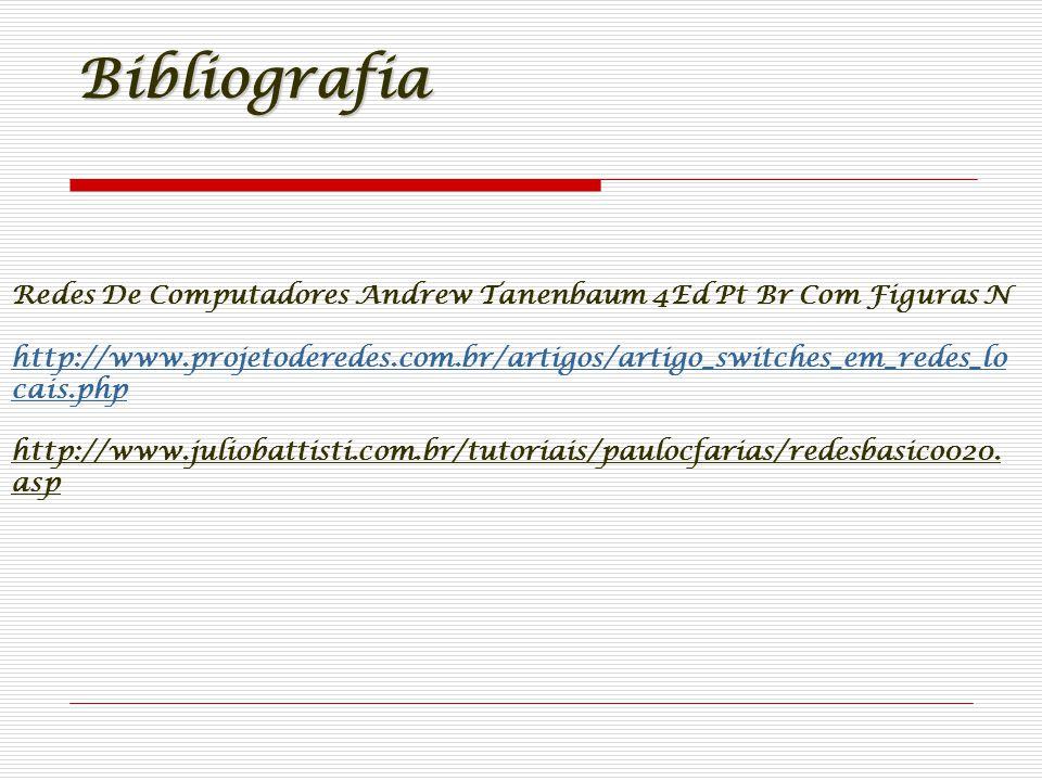 Bibliografia Redes De Computadores Andrew Tanenbaum 4Ed Pt Br Com Figuras N.