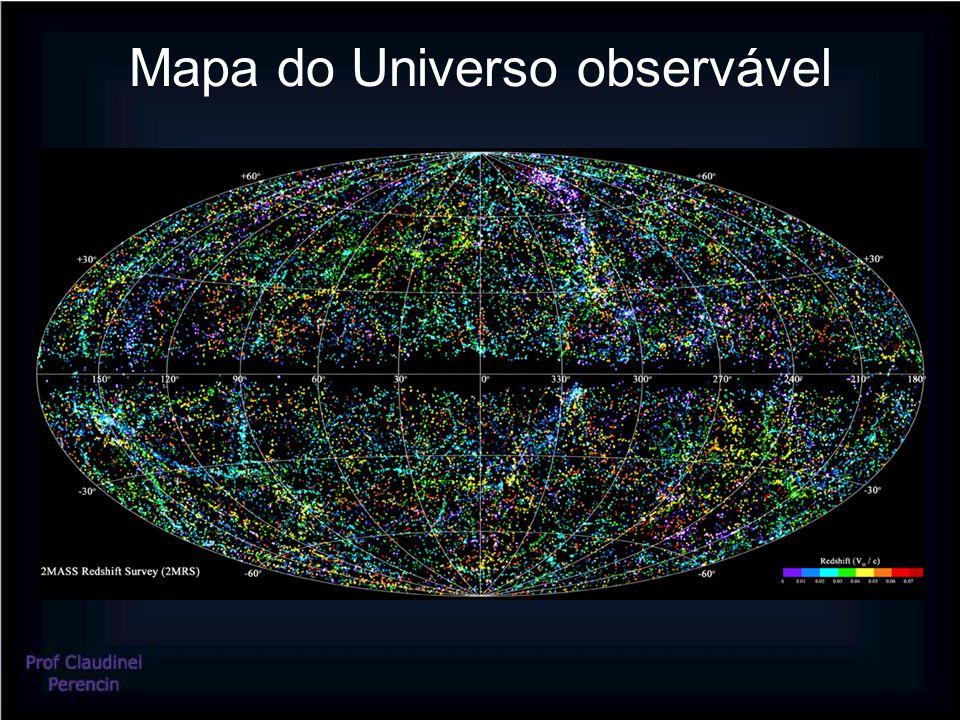 Mapa do Universo observável