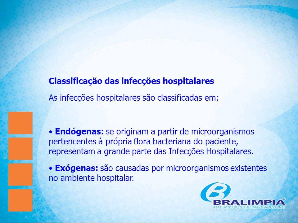 Classificação das infecções hospitalares