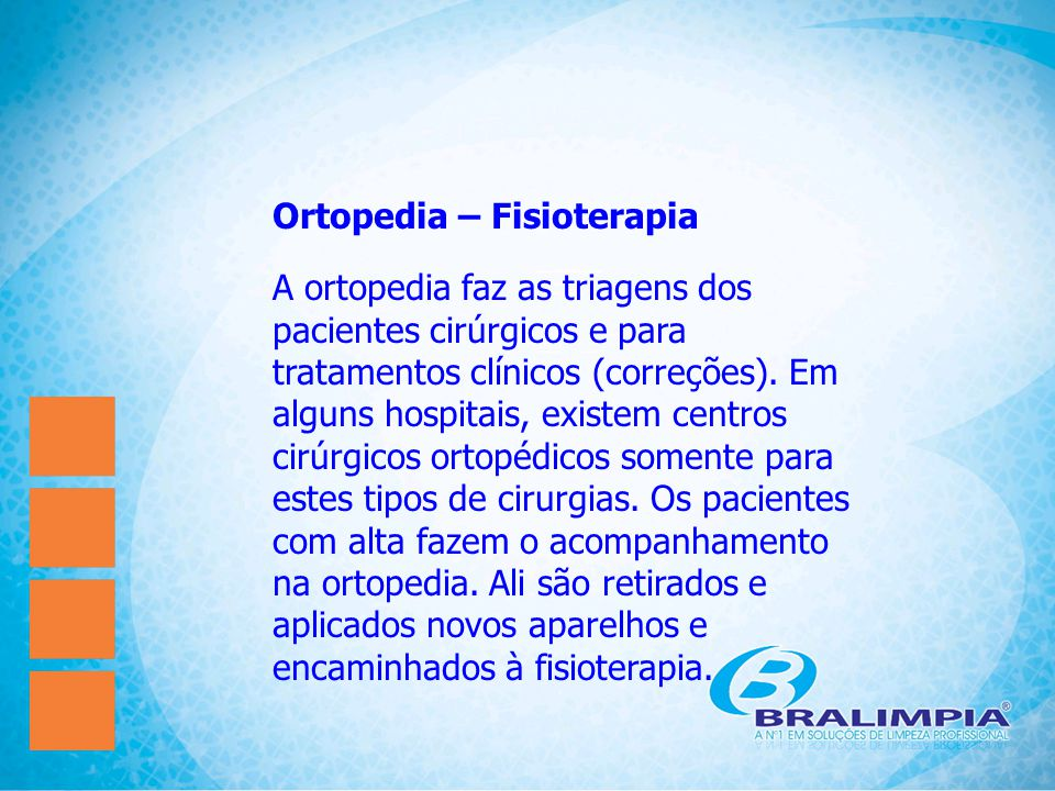 Ortopedia – Fisioterapia