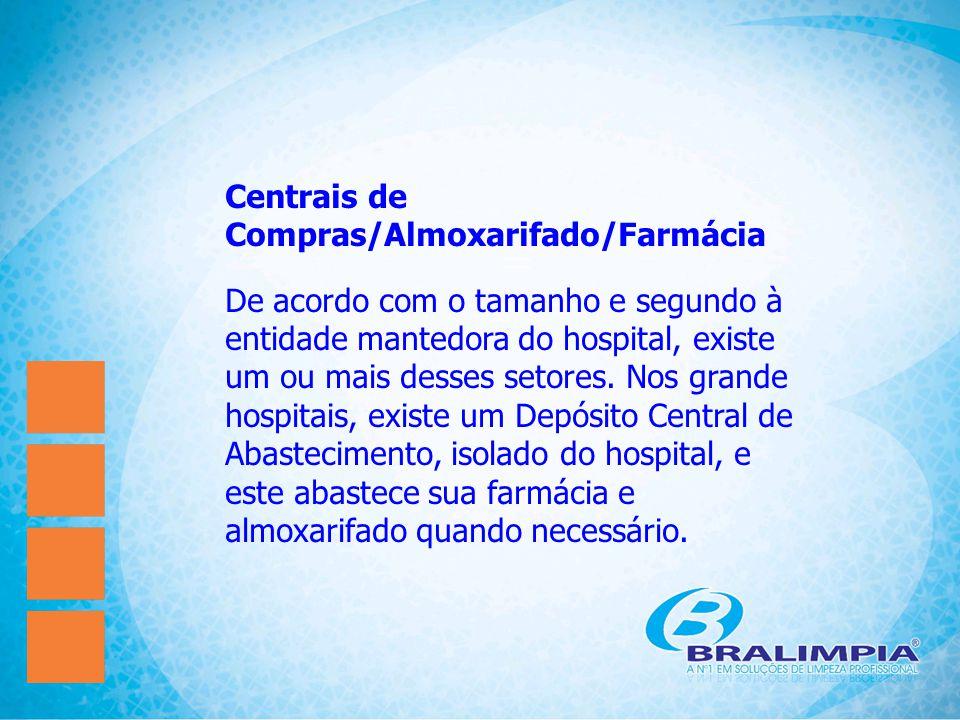 Centrais de Compras/Almoxarifado/Farmácia