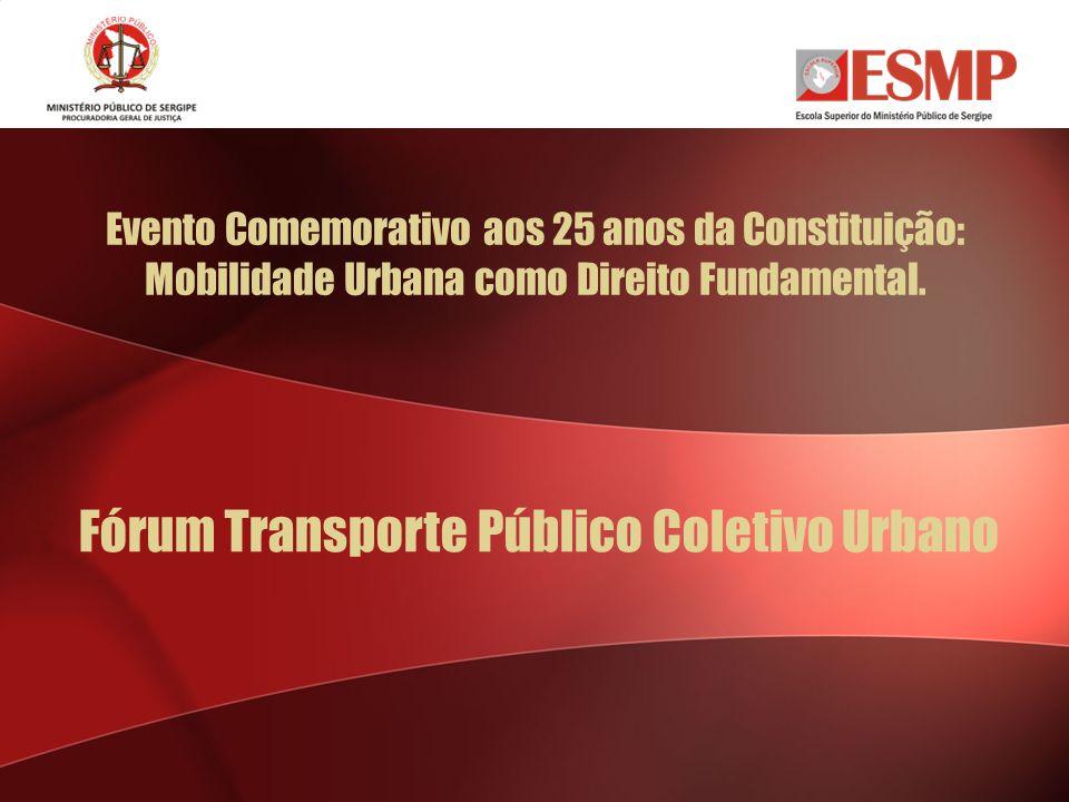 Fórum Transporte Público Coletivo Urbano
