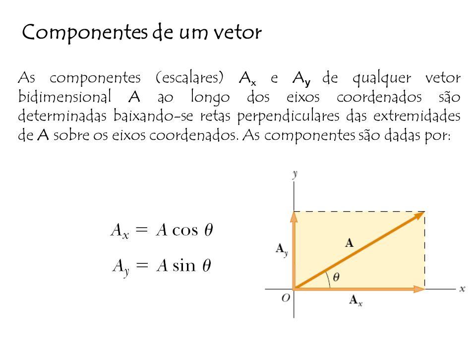 Componentes de um vetor