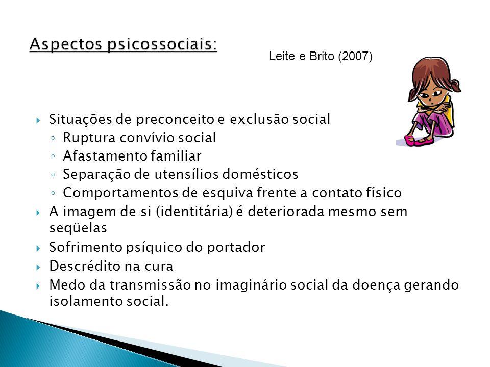 Aspectos psicossociais: