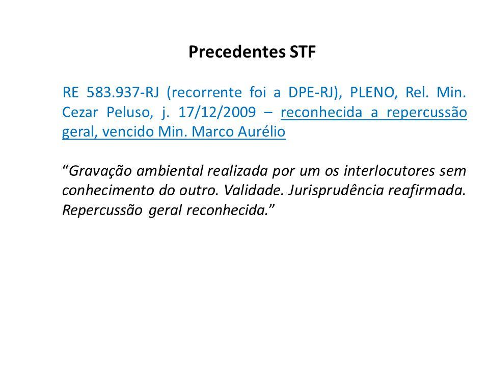 Precedentes STF