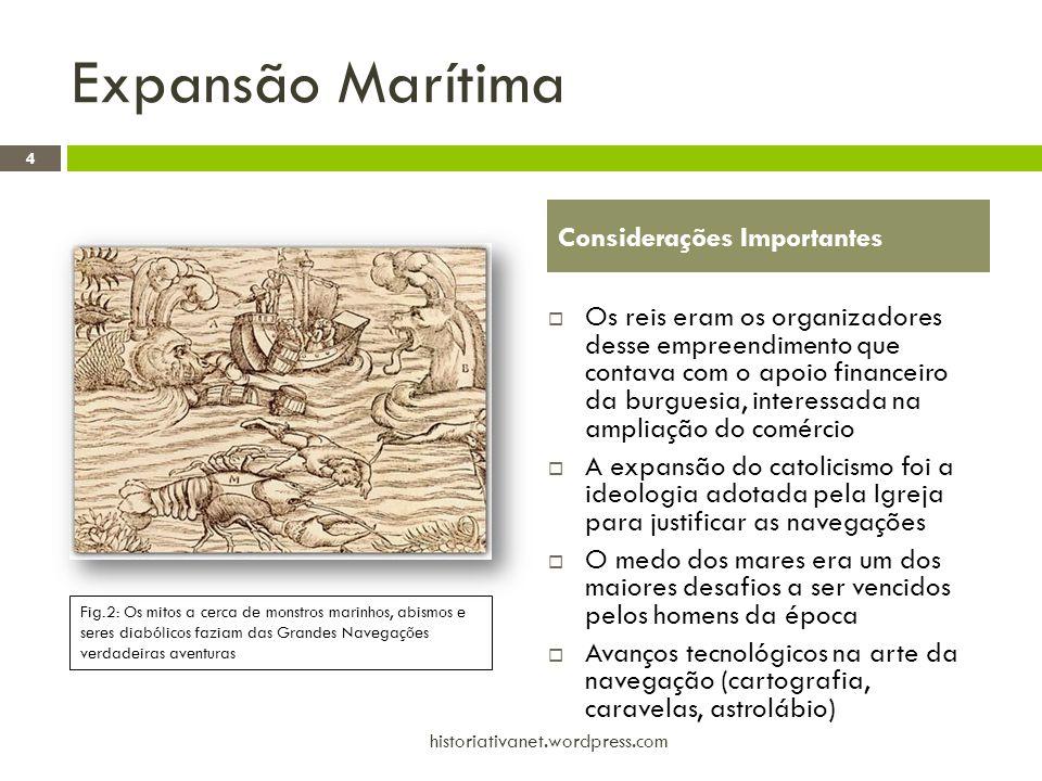 Expansão Marítima Considerações Importantes