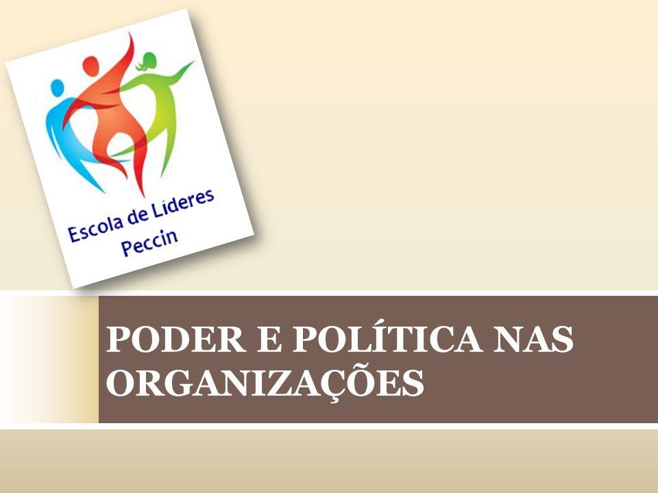 PODER E POLÍTICA NAS ORGANIZAÇÕES