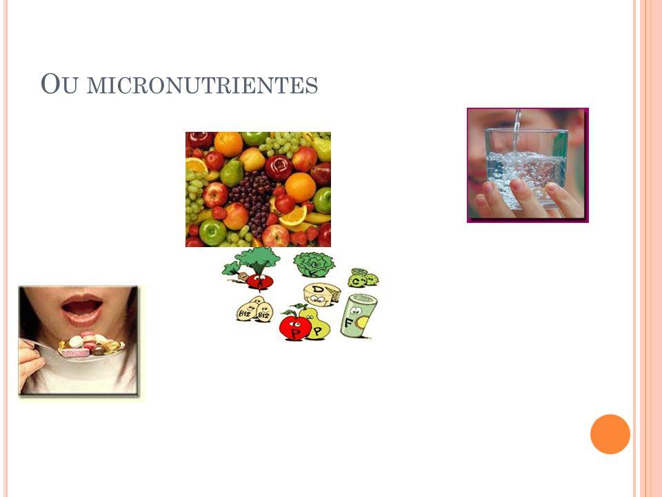 Ou micronutrientes