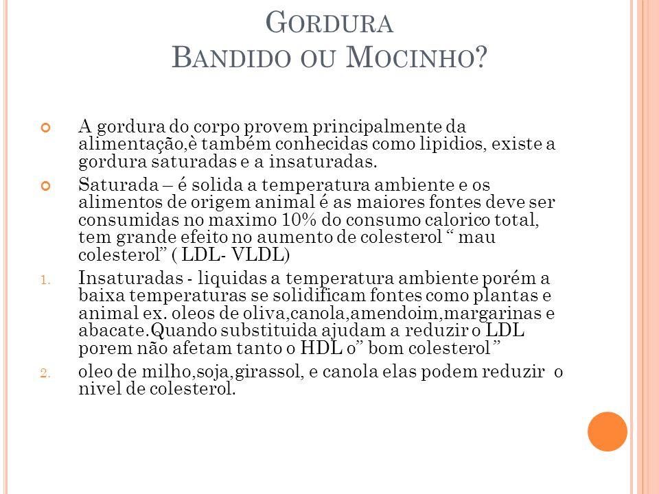Gordura Bandido ou Mocinho
