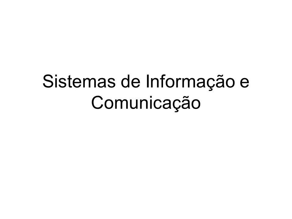 Sistemas de Informação e Comunicação