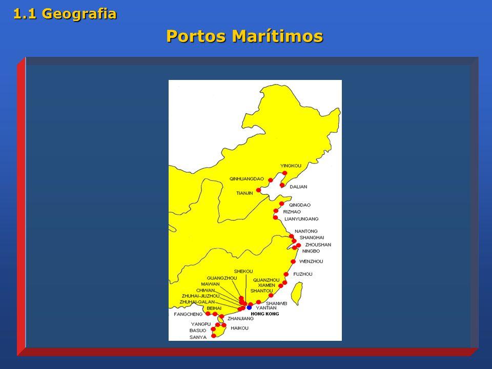 1.1 Geografia Portos Marítimos