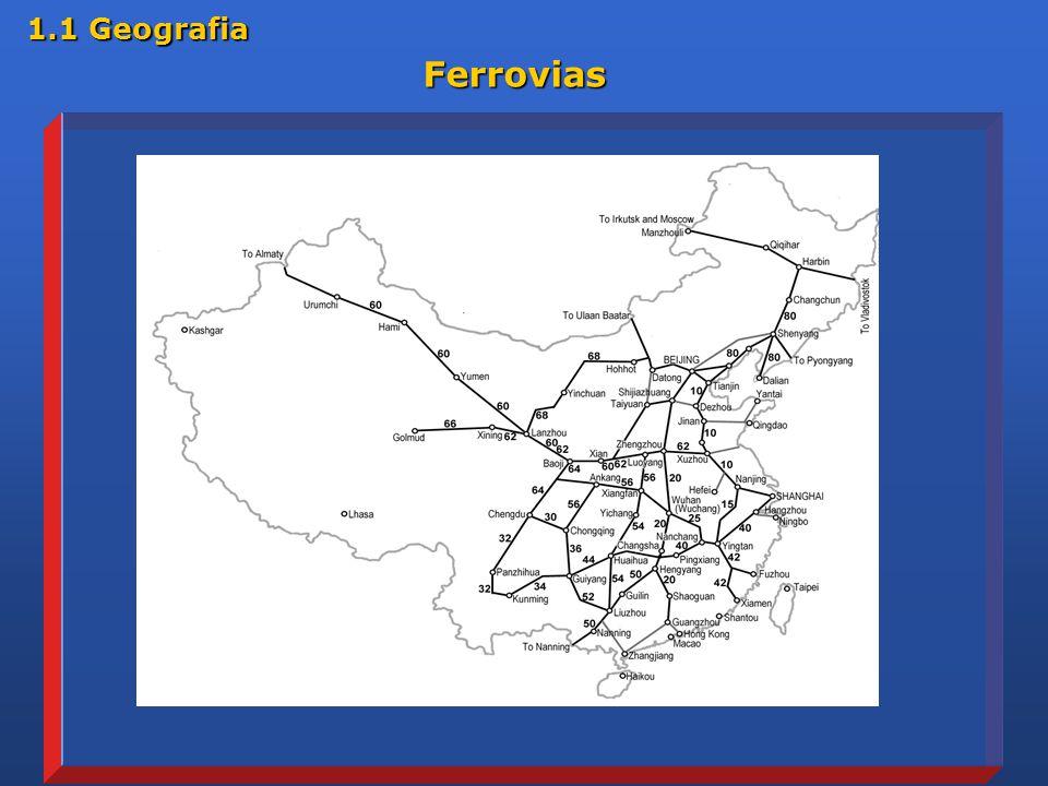 1.1 Geografia Ferrovias