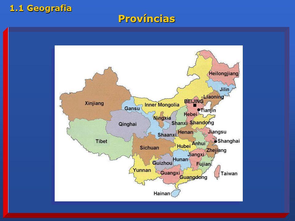 1.1 Geografia Províncias