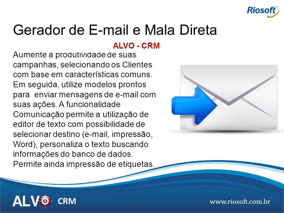 Gerador de E-mail e Mala Direta