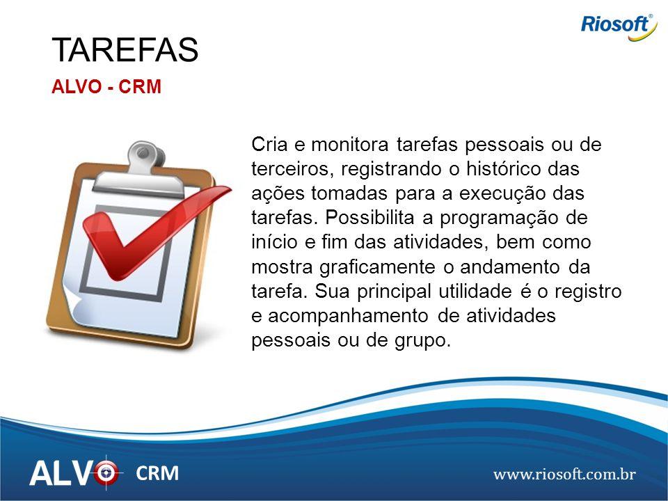 TAREFAS ALVO - CRM.