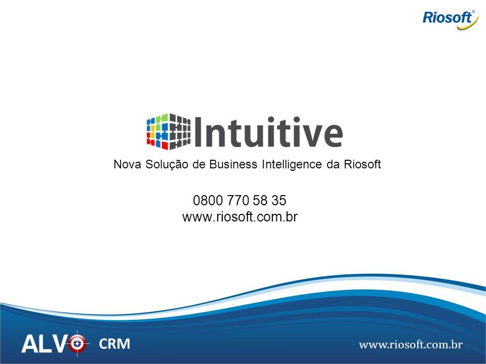 Nova Solução de Business Intelligence da Riosoft
