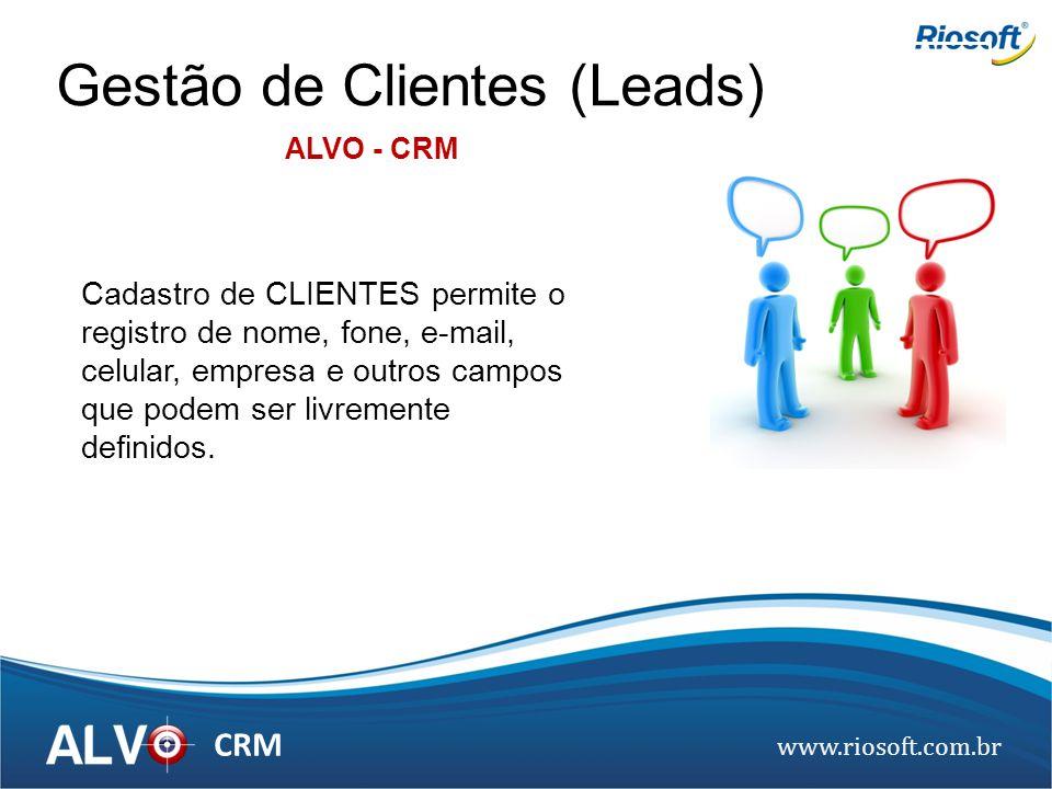Gestão de Clientes (Leads)