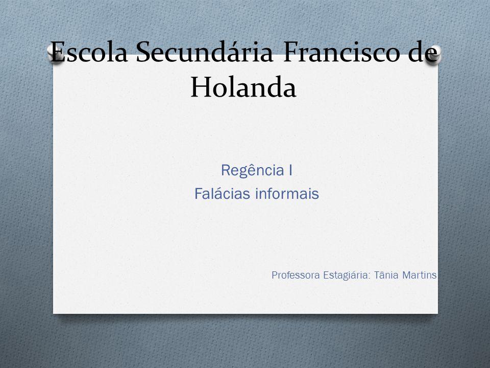 Escola Secundária Francisco de Holanda