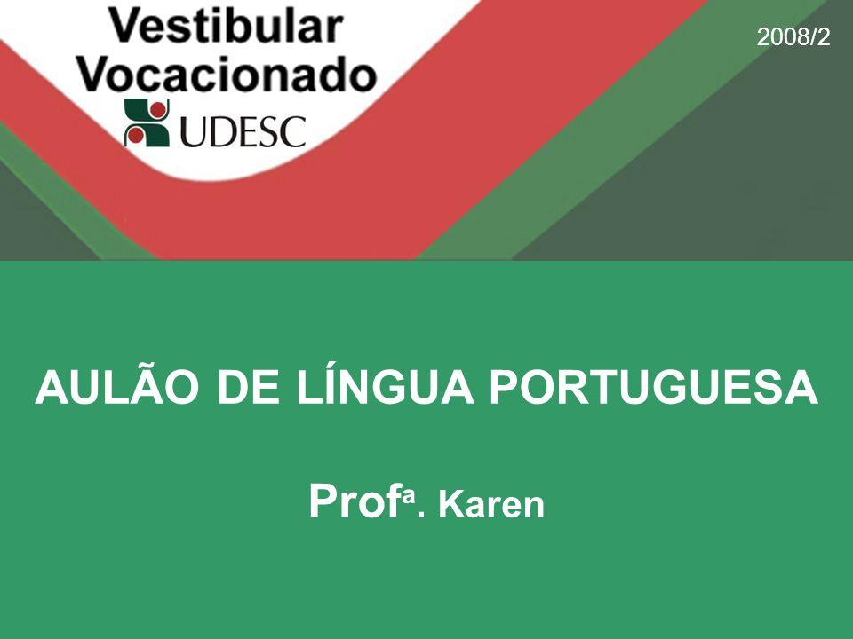 AULÃO DE LÍNGUA PORTUGUESA