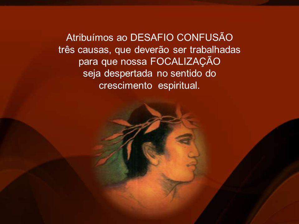 Atribuímos ao DESAFIO CONFUSÃO