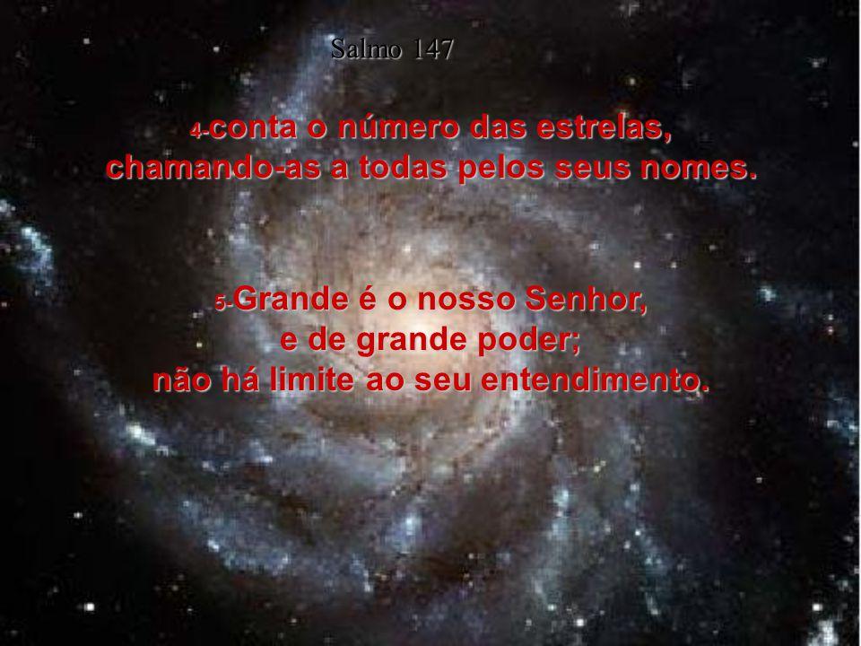 4-conta o número das estrelas, chamando-as a todas pelos seus nomes.