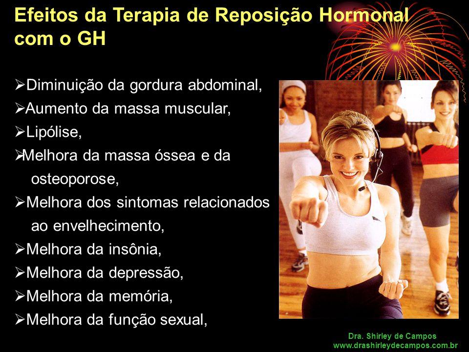 Efeitos da Terapia de Reposição Hormonal com o GH