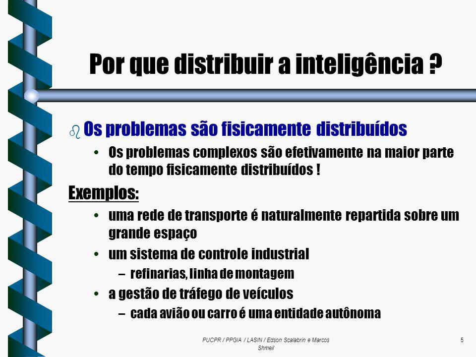 Por que distribuir a inteligência