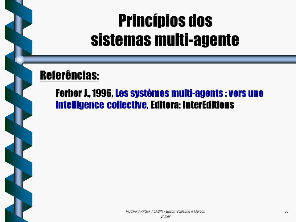 Princípios dos sistemas multi-agente