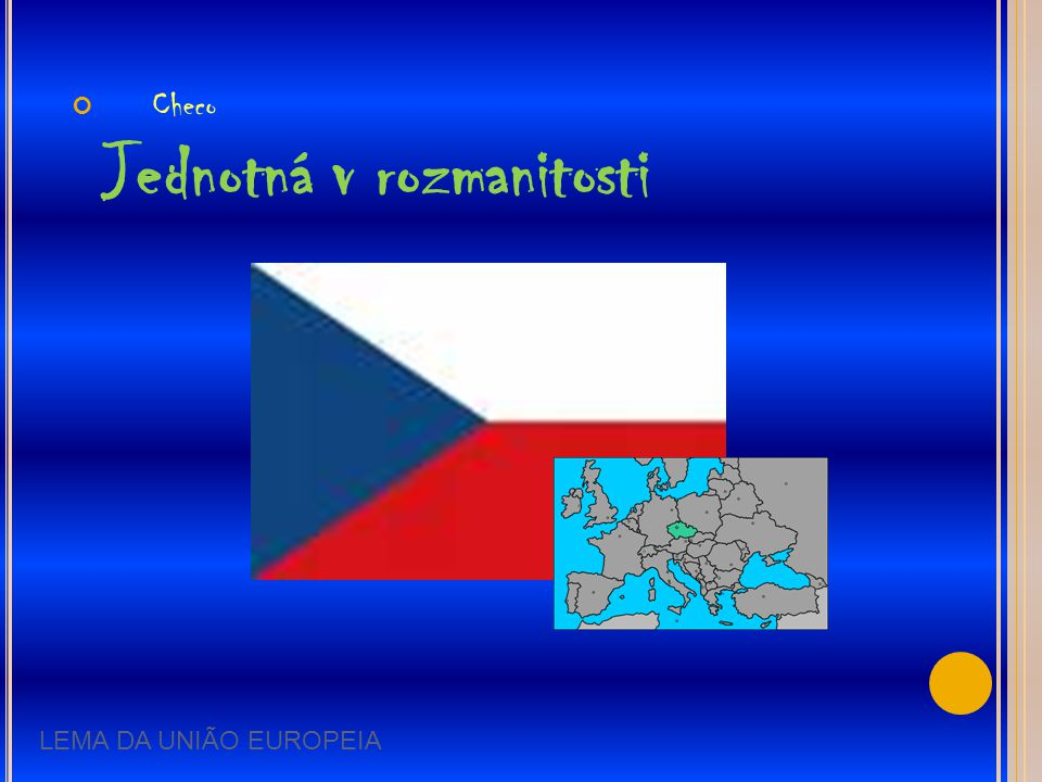 Checo Jednotná v rozmanitosti