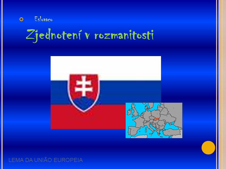 Eslovaco Zjednotení v rozmanitosti