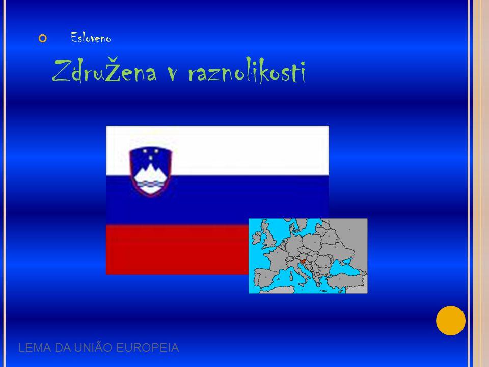 Esloveno Združena v raznolikosti
