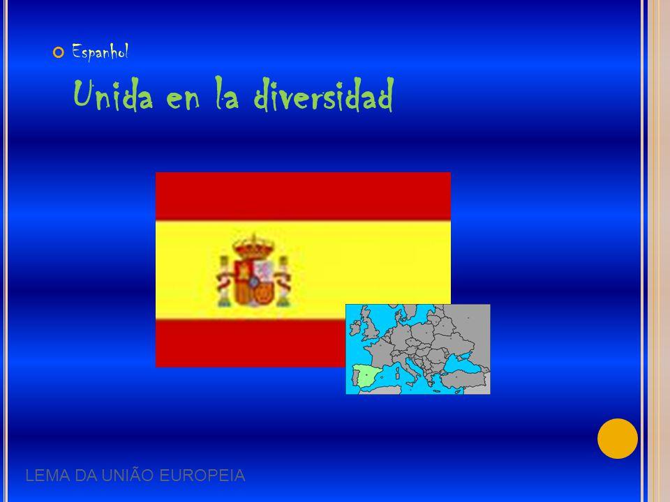 Espanhol Unida en la diversidad