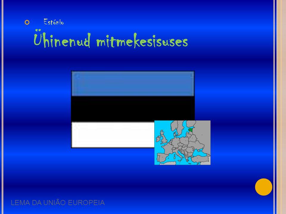 Estónio Ühinenud mitmekesisuses