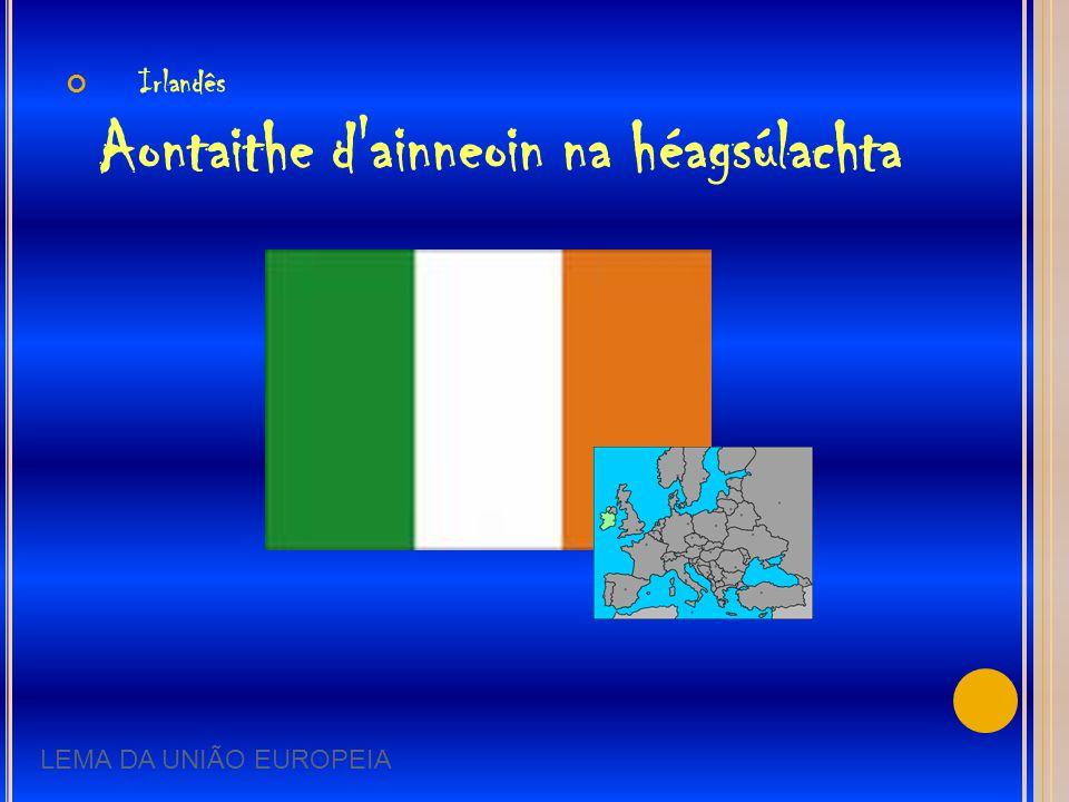 Irlandês Aontaithe d ainneoin na héagsúlachta
