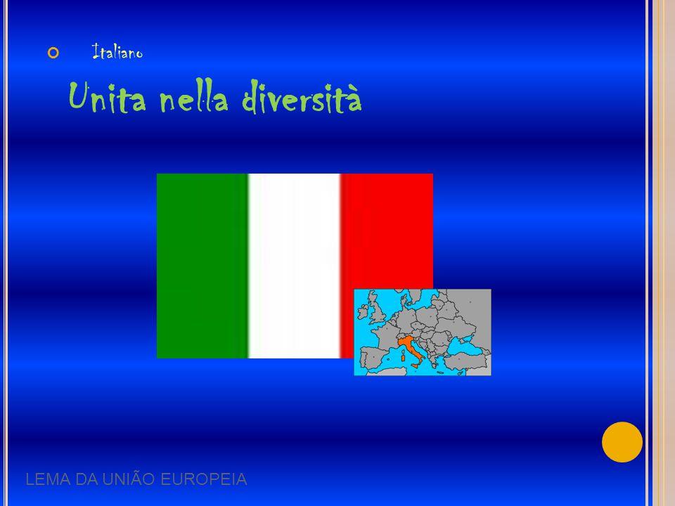 Italiano Unita nella diversità