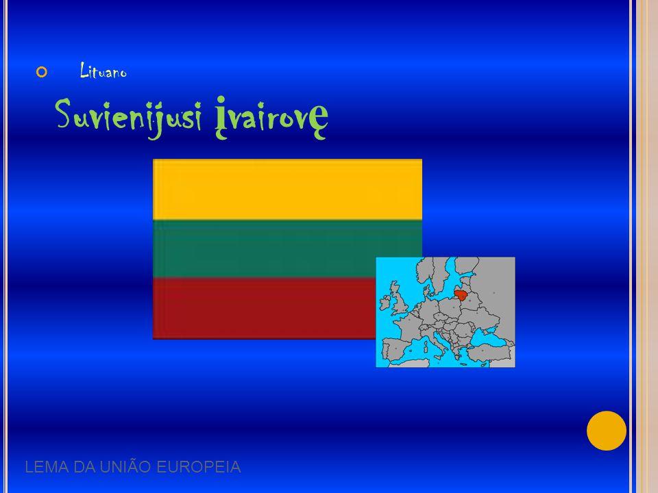Lituano Suvienijusi įvairovę