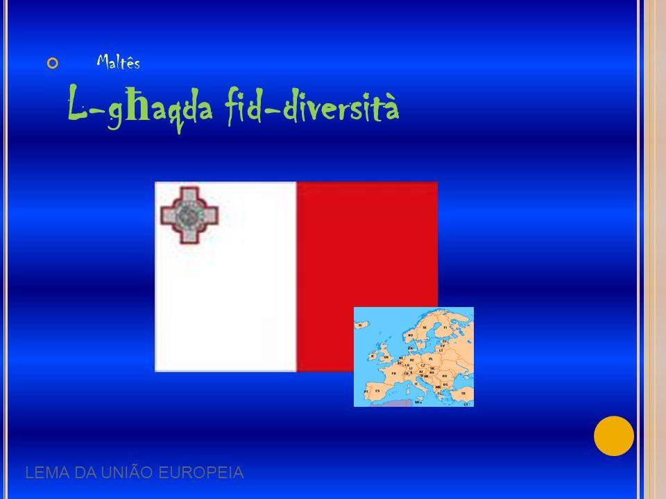Maltês L-għaqda fid-diversità