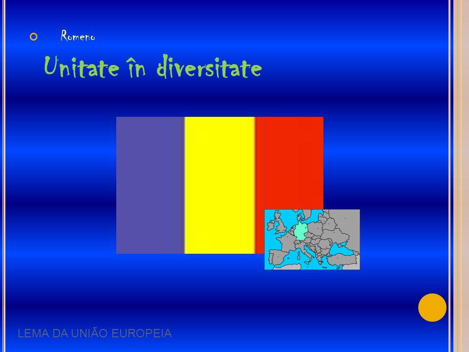 Romeno Unitate în diversitate