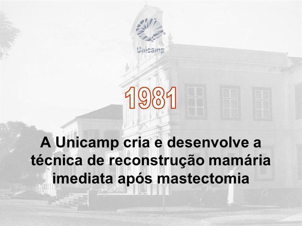 Unicamp 1981.