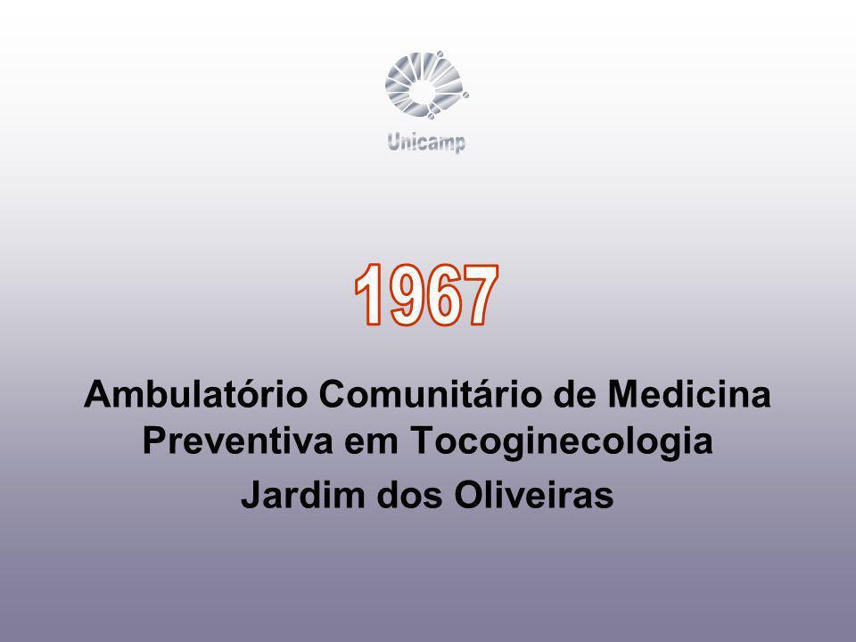 Ambulatório Comunitário de Medicina Preventiva em Tocoginecologia