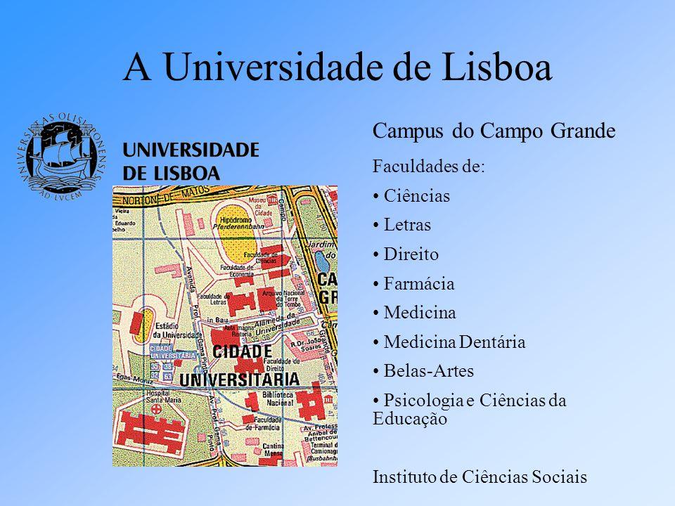 A Universidade de Lisboa