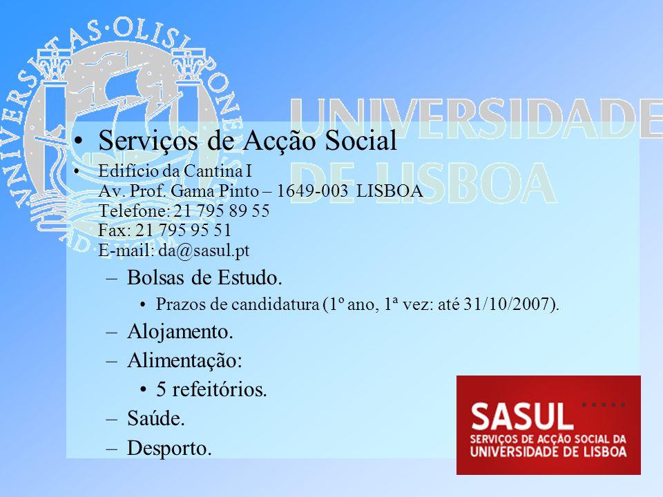 Serviços de Acção Social