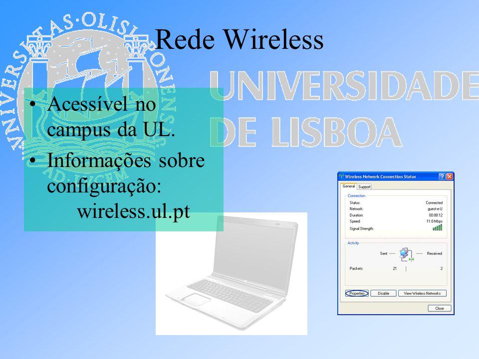 Rede Wireless Acessível no campus da UL.