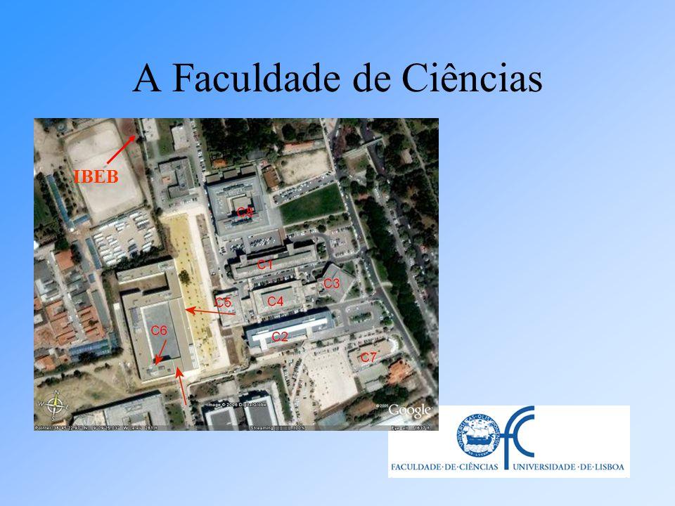 A Faculdade de Ciências